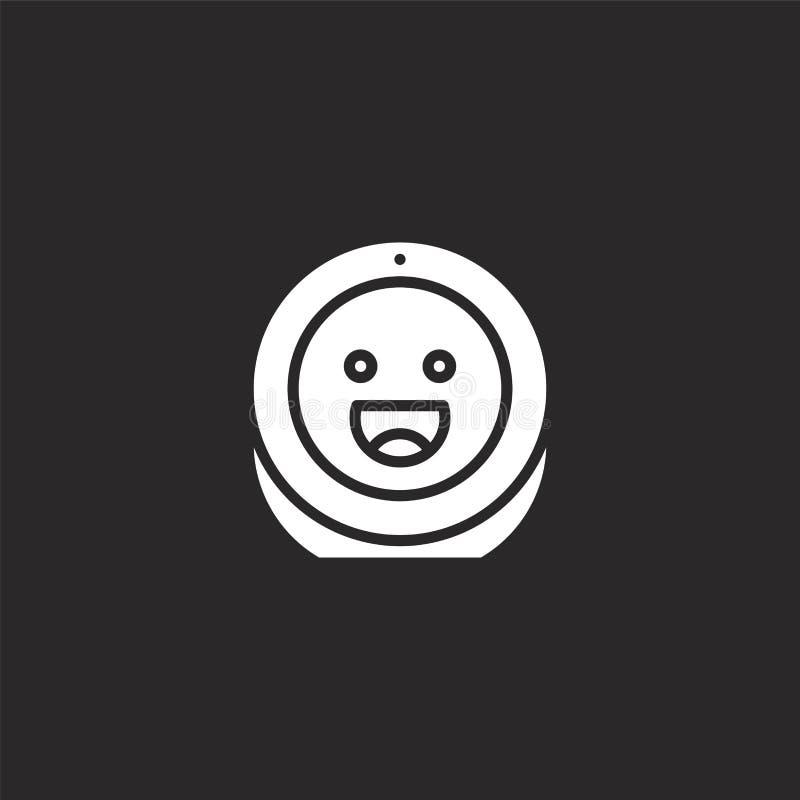ícone de amazon Ícone enchido de amazon para o projeto do Web site e o móbil, desenvolvimento do app ícone de amazon da coleção b ilustração royalty free