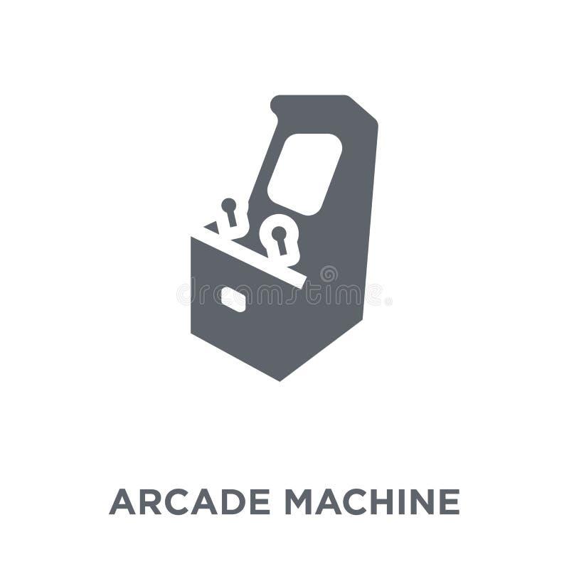 Ícone de Arcade Machine da coleção do entretenimento ilustração royalty free