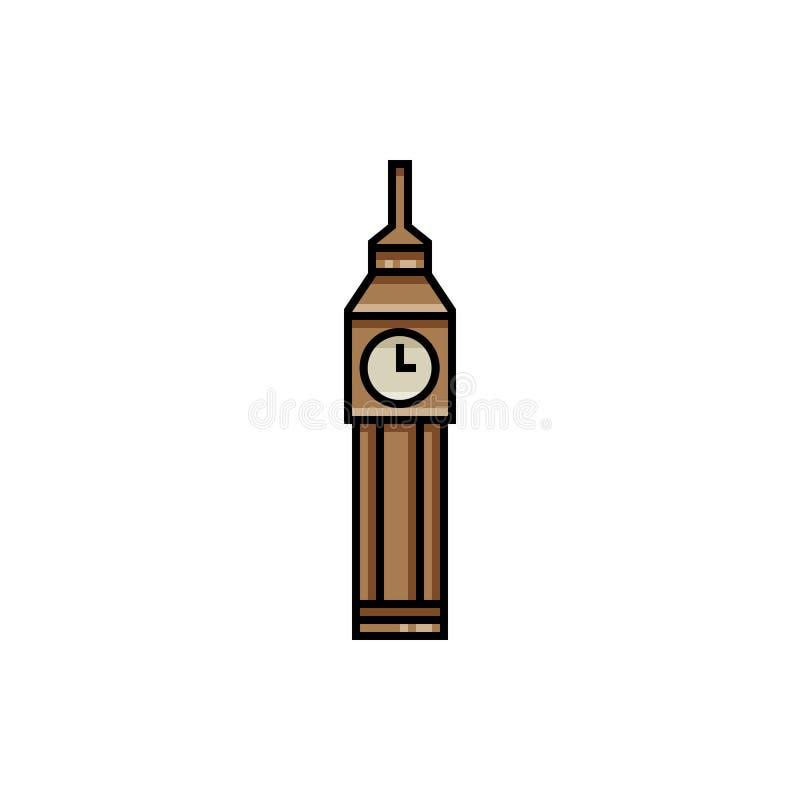 Ícone de Ben grande ilustração royalty free