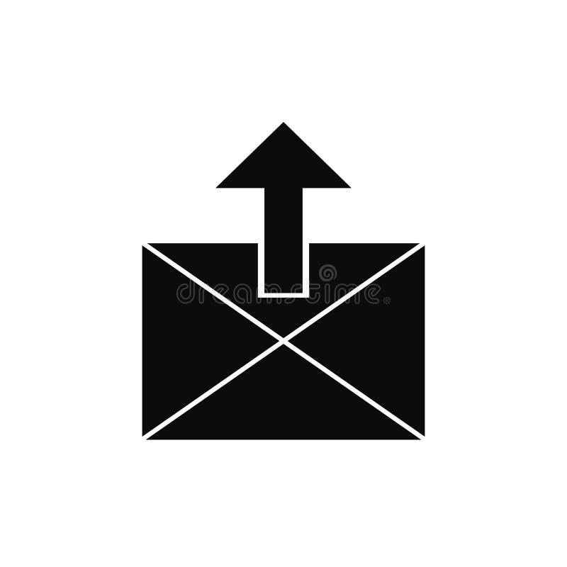 Ícone de computação da transferência de arquivo pela rede da nuvem isolado no fundo branco ilustração do vetor