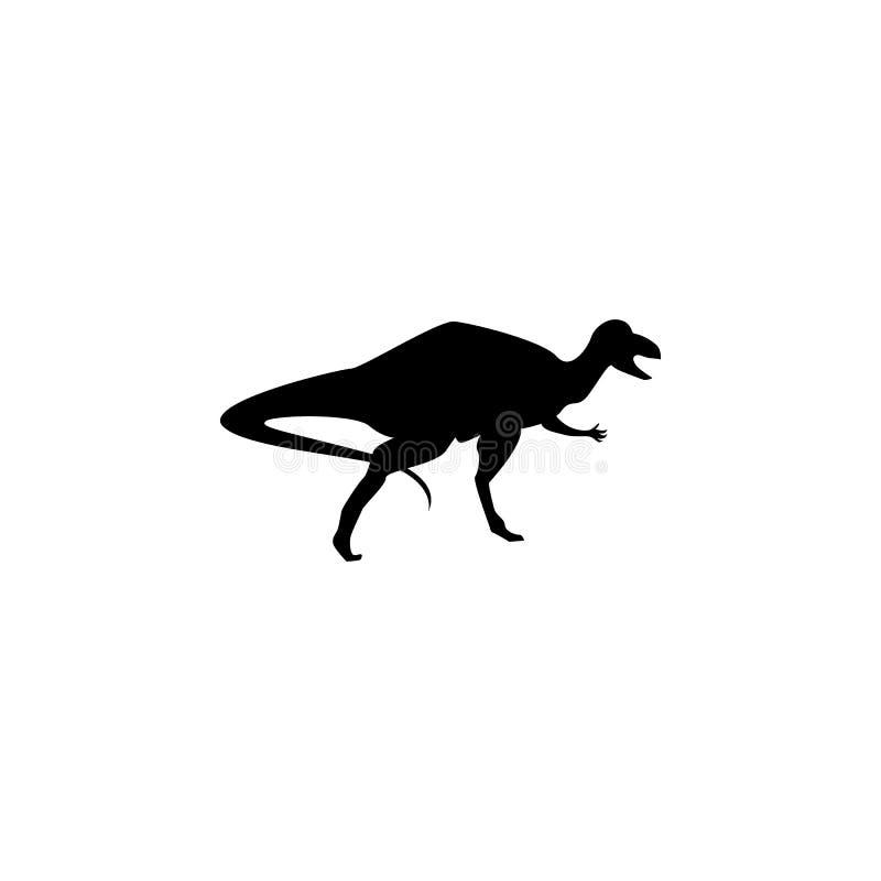 Ícone de Cornotaurus Elementos do ícone do dinossauro Projeto gráfico da qualidade superior Sinais e ícone para Web site, Web de  ilustração stock