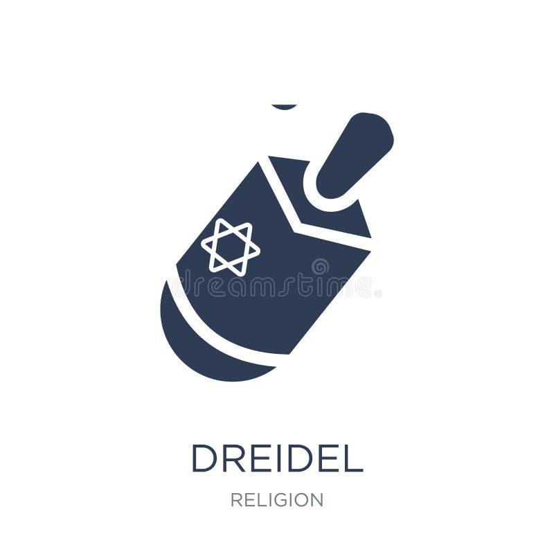 Ícone de Dreidel  ilustração do vetor