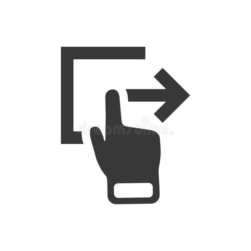 Ícone de emissão simples ilustração stock