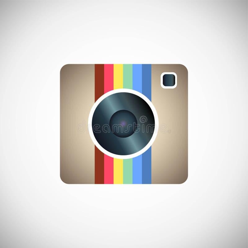 Ícone de Instagram ilustração royalty free