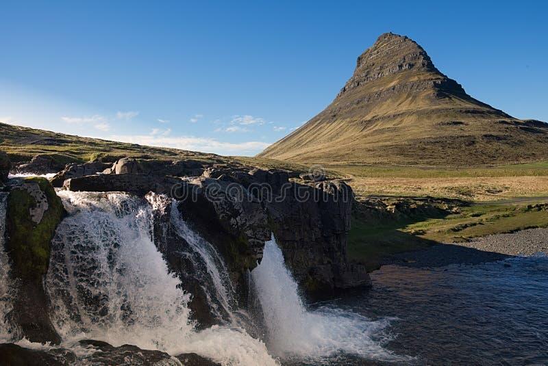 Ícone de Islândia: Kirkjufell foto de stock