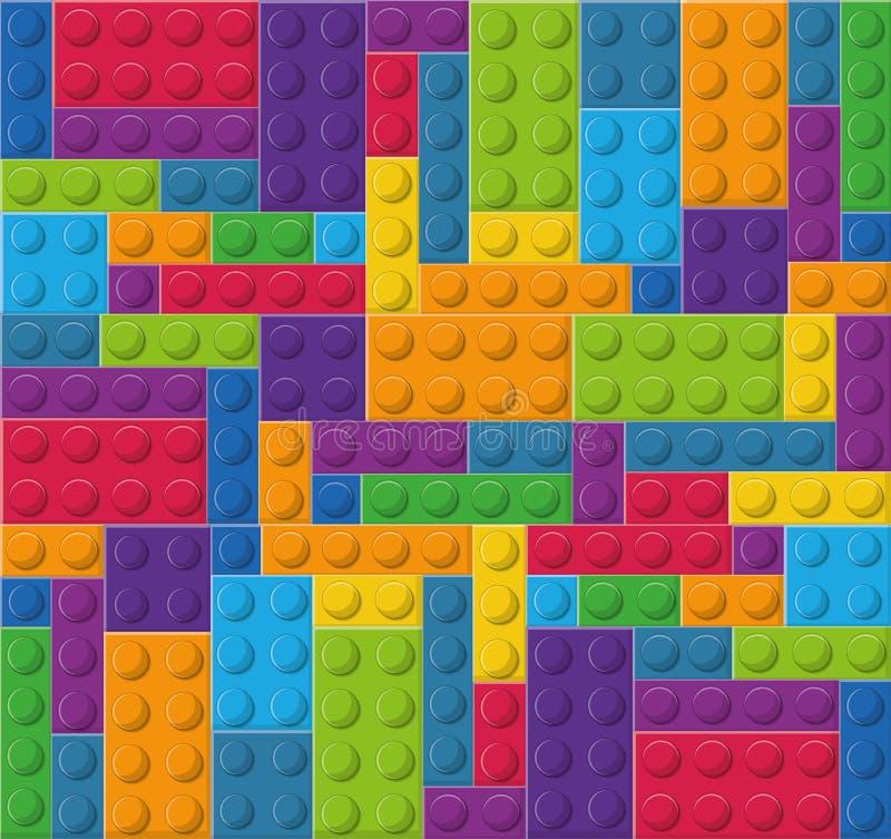 Ícone de Lego Figura abstrata Gráfico de vetor ilustração do vetor