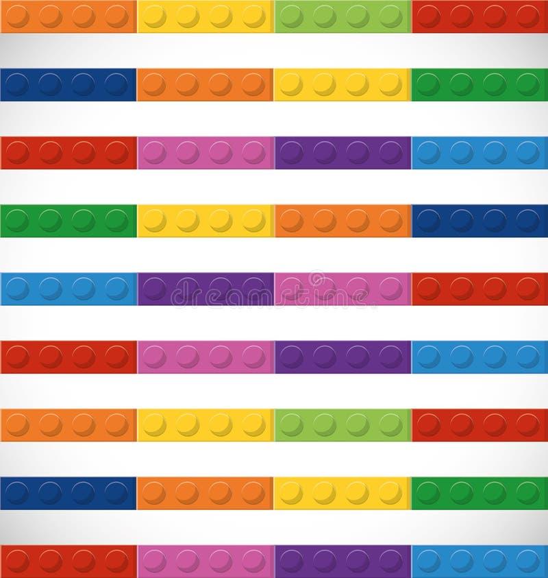 Ícone de Lego Figura de Sriped Gráfico de vetor ilustração royalty free
