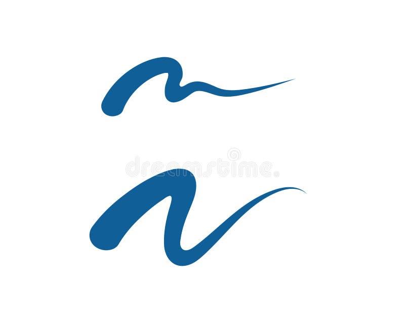 Ícone de M Letter Logo Template Vetora ilustração stock