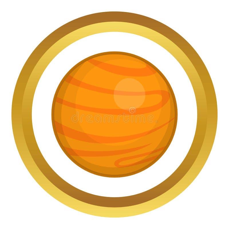 Ícone de Marte ilustração royalty free