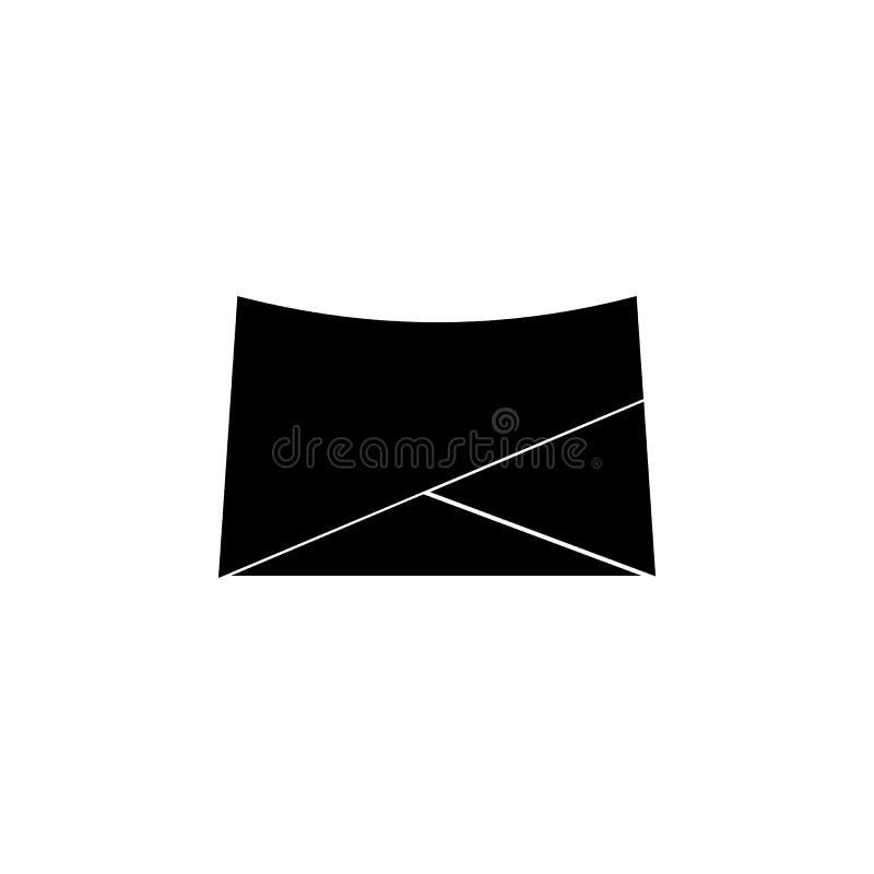 Ícone de Mini Skirt ilustração stock