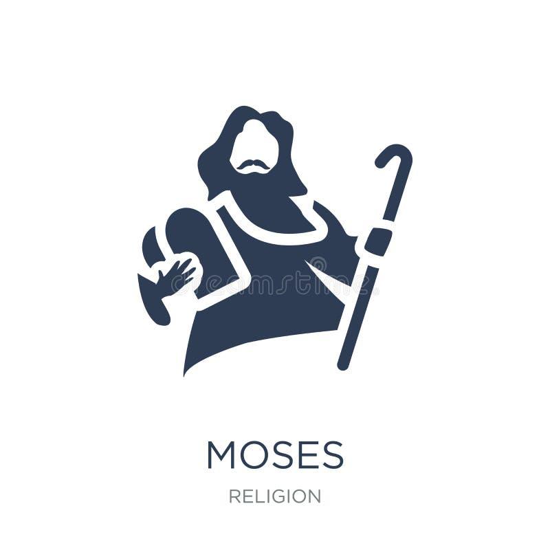 Ícone de Moses  ilustração royalty free