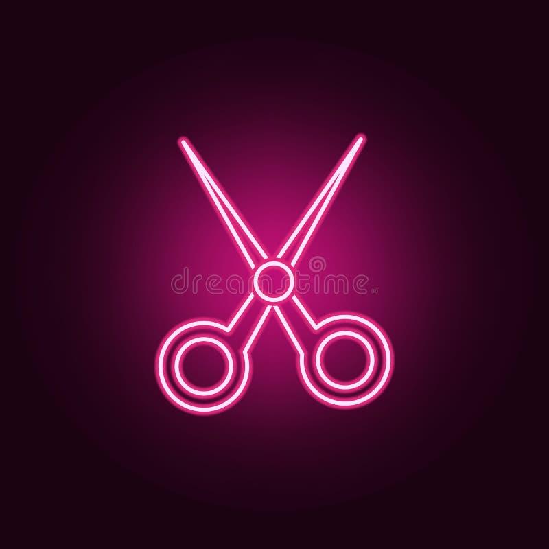 Ícone de néon do manequim da colar Elementos das mulheres \ 'grupo dos acessórios de s ?cone simples para Web site, design web, a ilustração do vetor