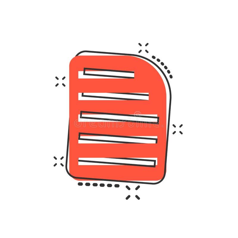 Ícone de original dos desenhos animados do vetor no estilo cômico Arquivo de dados s do arquivo ilustração royalty free