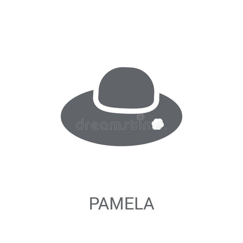 Ícone de Pamela  ilustração do vetor