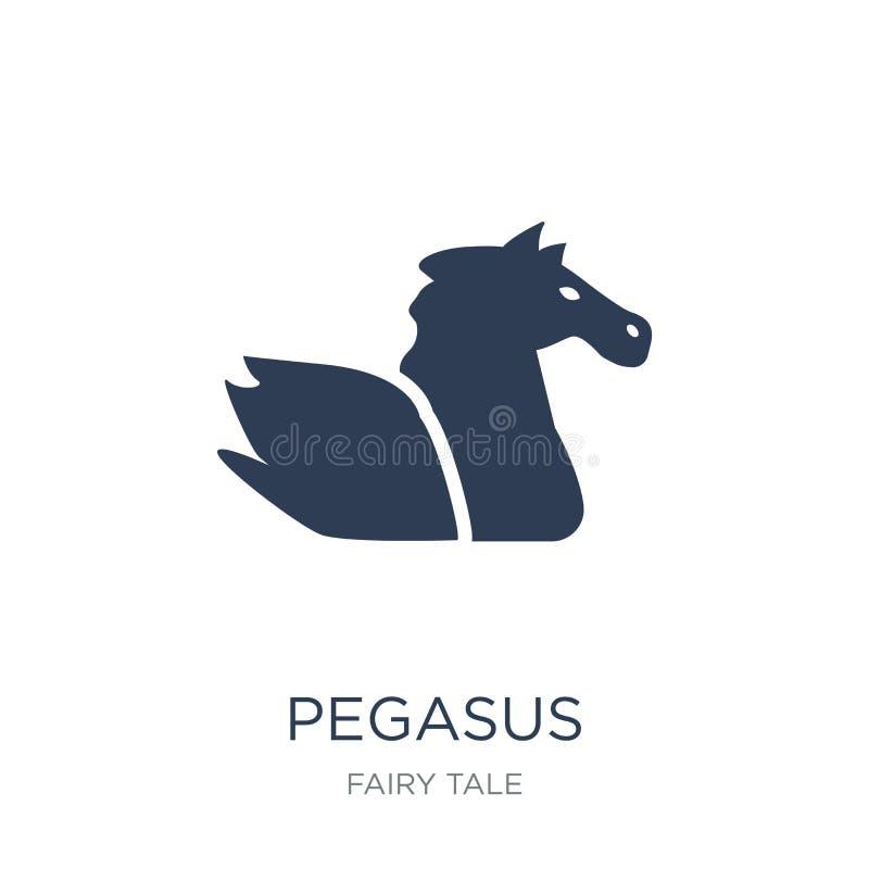 Ícone de Pegasus  ilustração stock