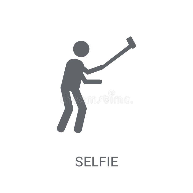 Ícone de Selfie  ilustração stock