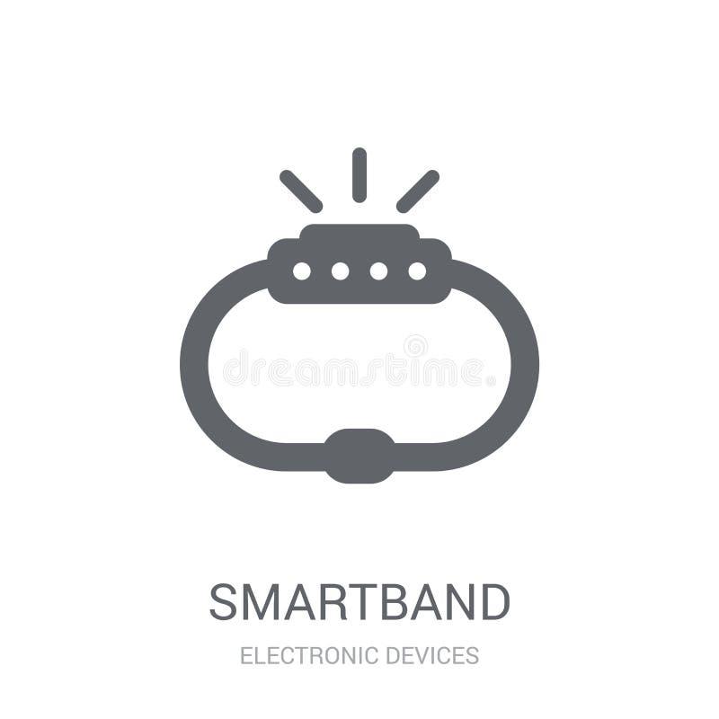 Ícone de Smartband  ilustração stock