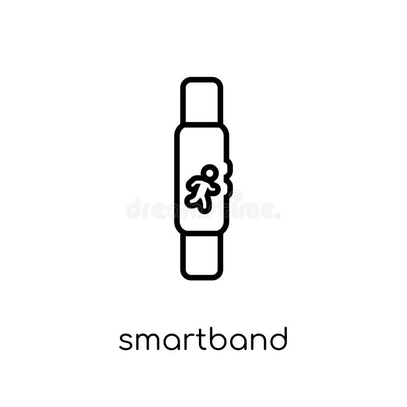 Ícone de Smartband da coleção dos dispositivos eletrónicos ilustração royalty free