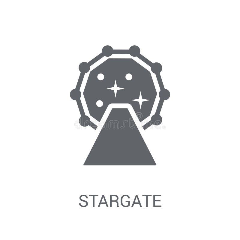 Ícone de Stargate  ilustração royalty free