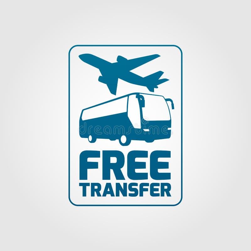 Ícone 01 de transferência livre ilustração stock