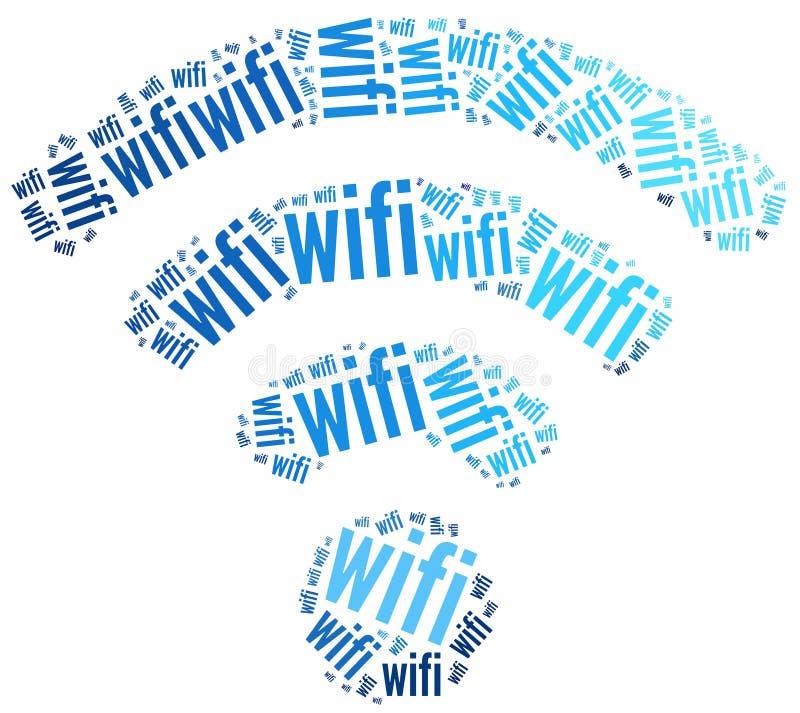 Ícone de WiFi ilustração do vetor