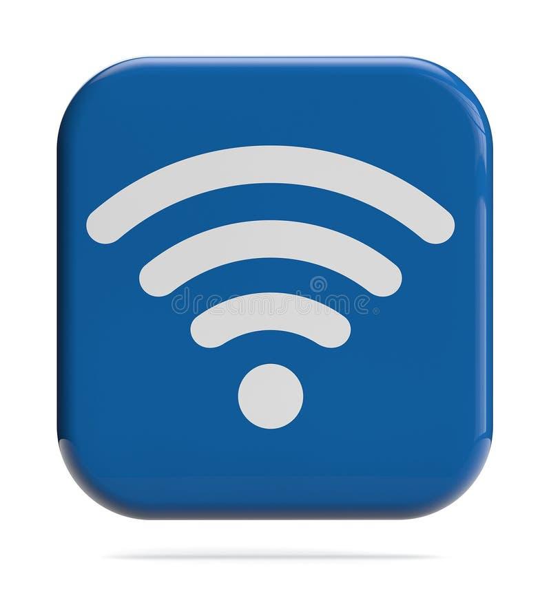 Ícone de WiFi imagem de stock royalty free