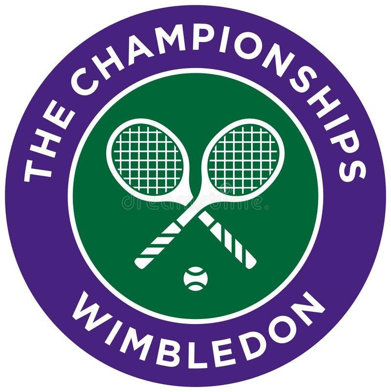 Ícone de Wimbledon ilustração stock