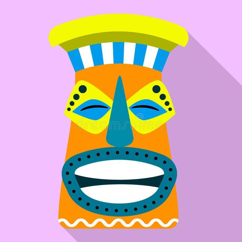 ?cone do ?dolo do Maya, estilo liso ilustração do vetor