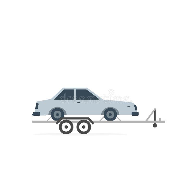 Ícone do alador do carro ilustração do vetor