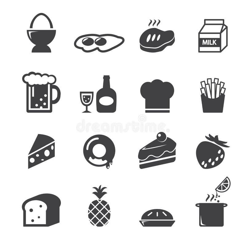Ícone do alimento ilustração stock