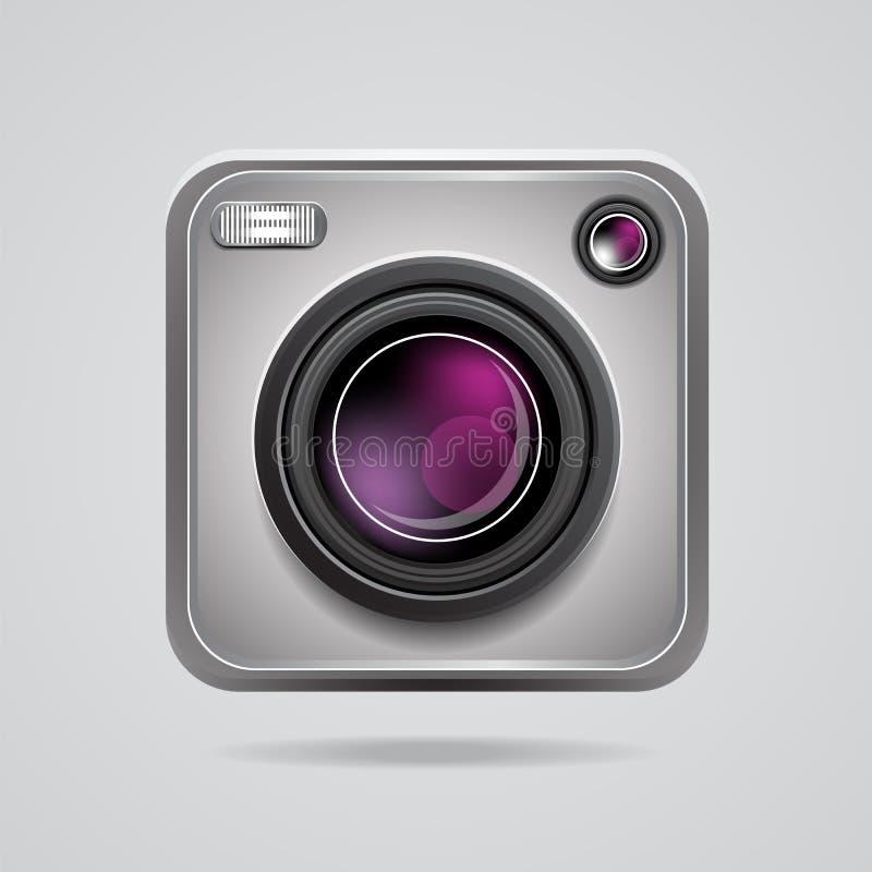 Ícone do App da câmera ilustração do vetor
