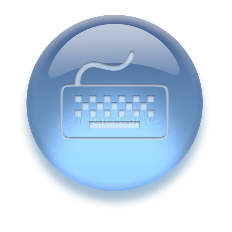 Ícone do Aqua ilustração stock