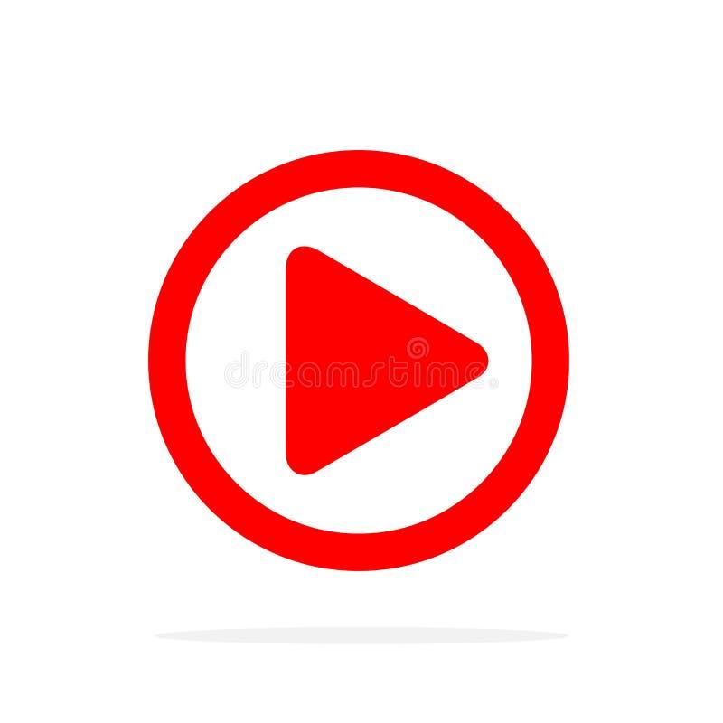 Ícone do botão do jogo Ilustração do vetor ilustração do vetor