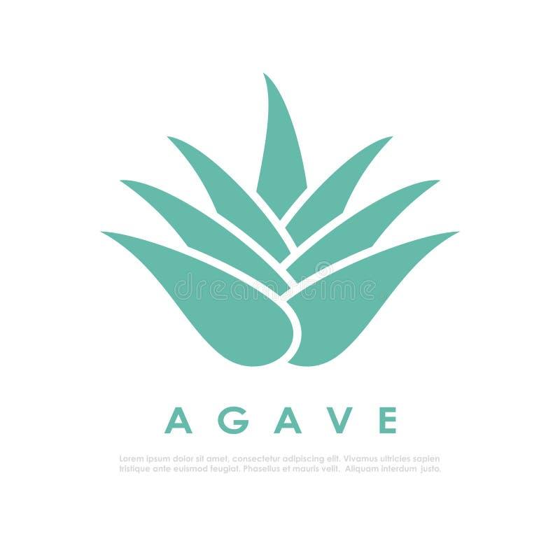 Ícone do cacto da agave ilustração do vetor