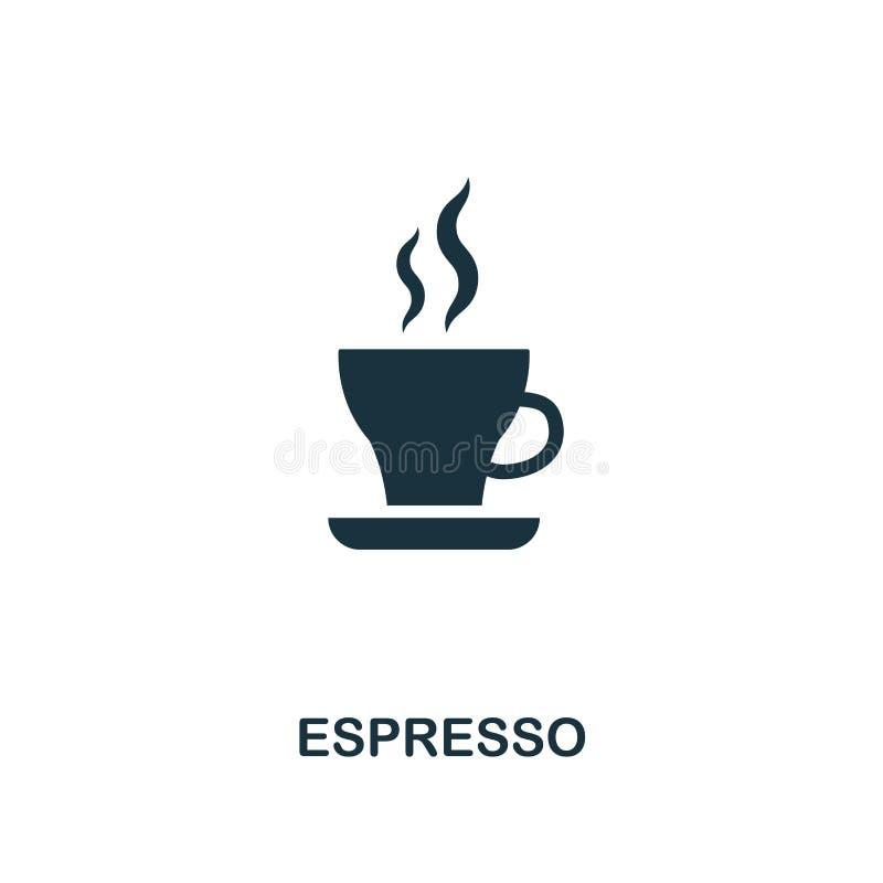 ícone do café Projeto superior do estilo da coleção do ícone da loja do coffe UI e UX Ícone perfeito do café do pixel Para o desi ilustração do vetor