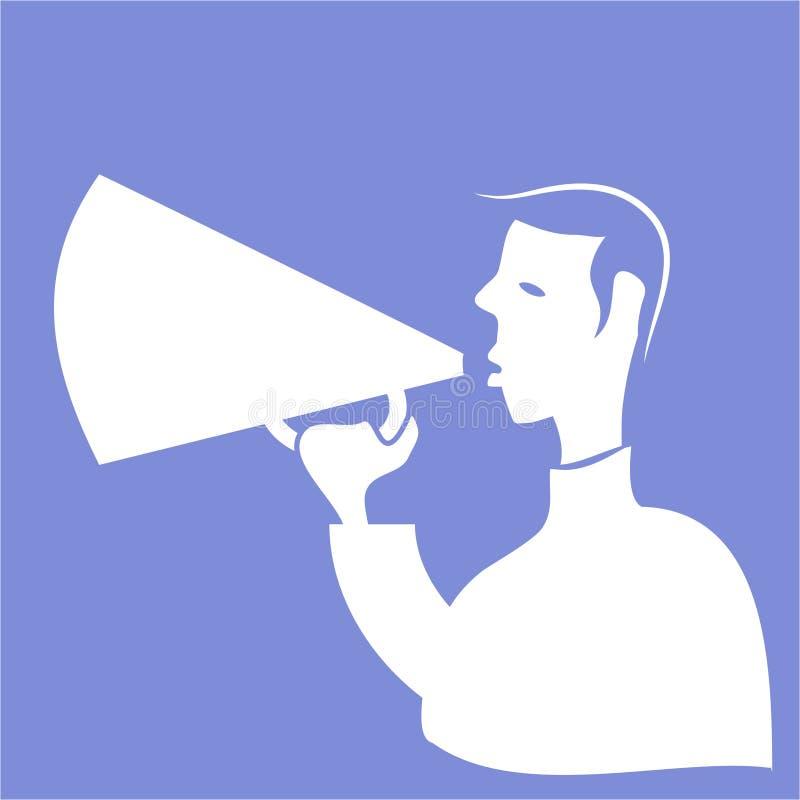 Download Ícone do Callout ilustração do vetor. Ilustração de communication - 104279