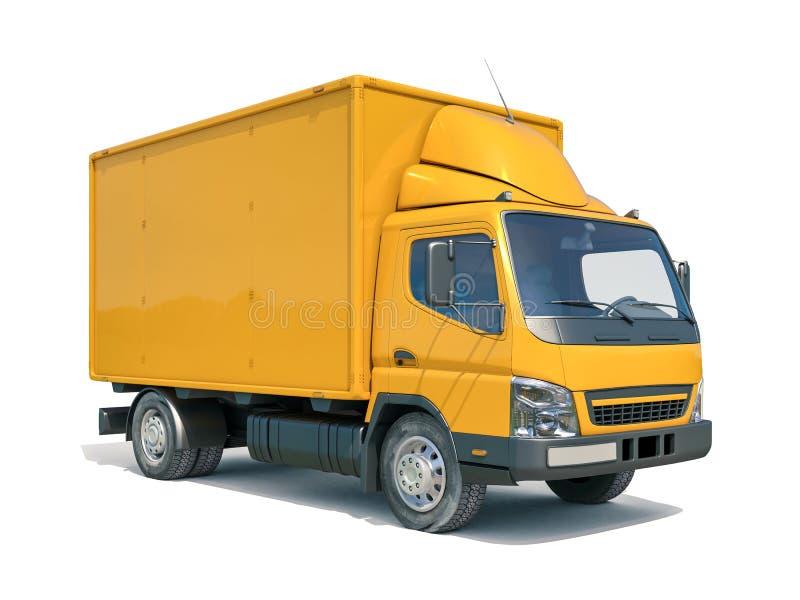 Ícone do caminhão de entrega foto de stock