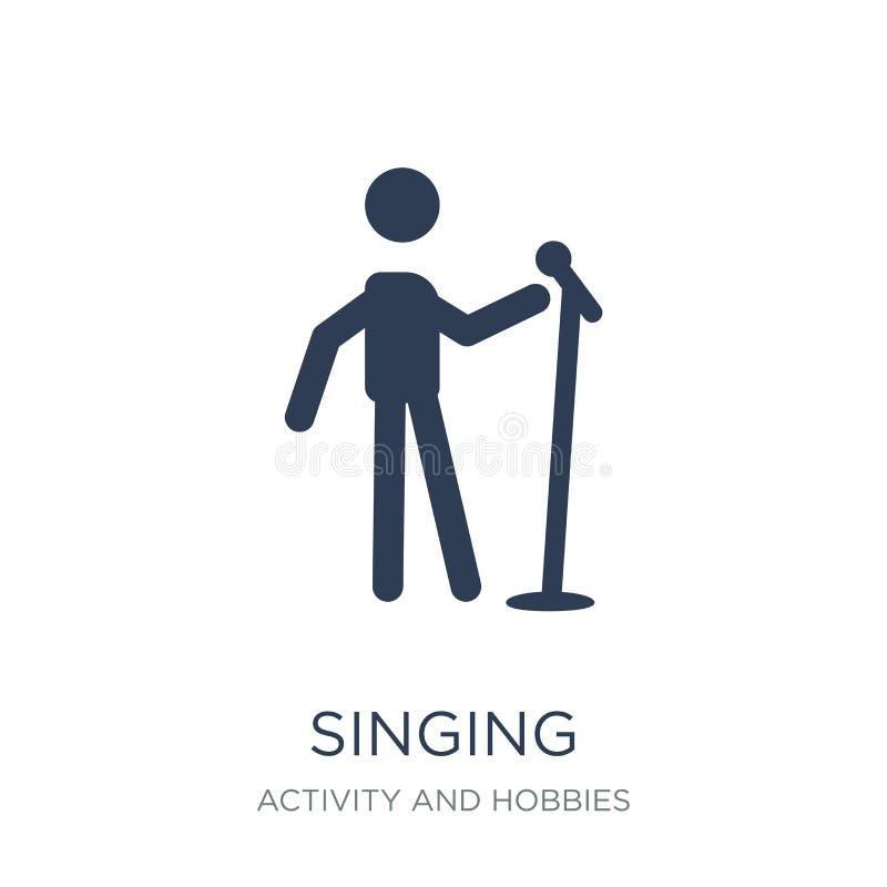 Ícone do canto Ícone liso na moda do canto do vetor no backgroun branco ilustração do vetor