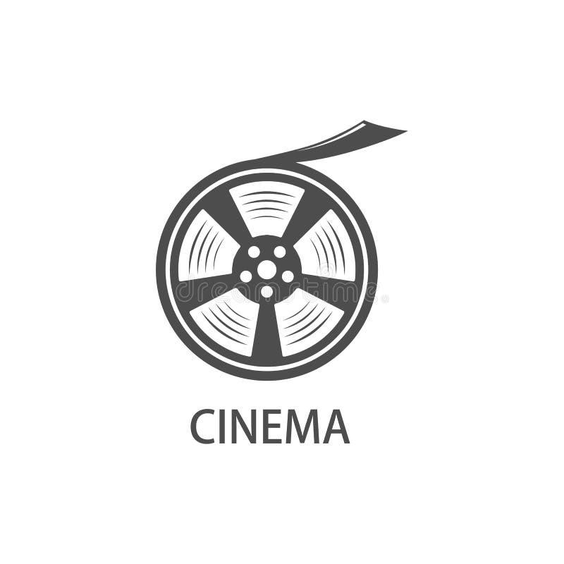 Ícone do carretel de película ilustração stock
