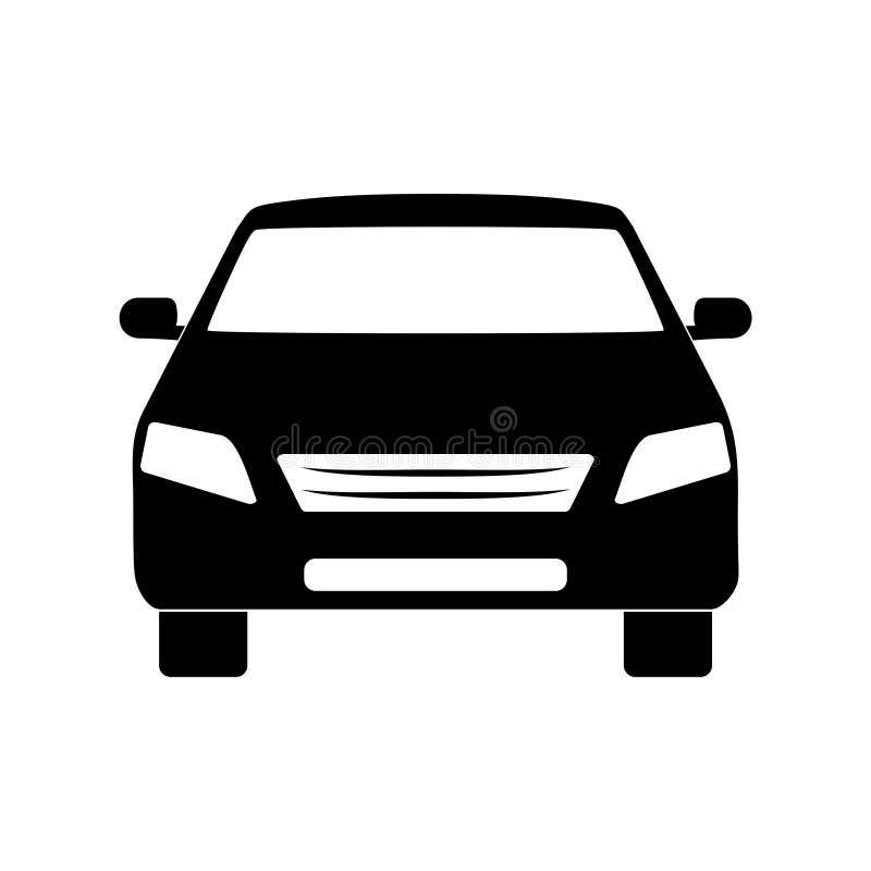 Ícone do carro ilustração stock