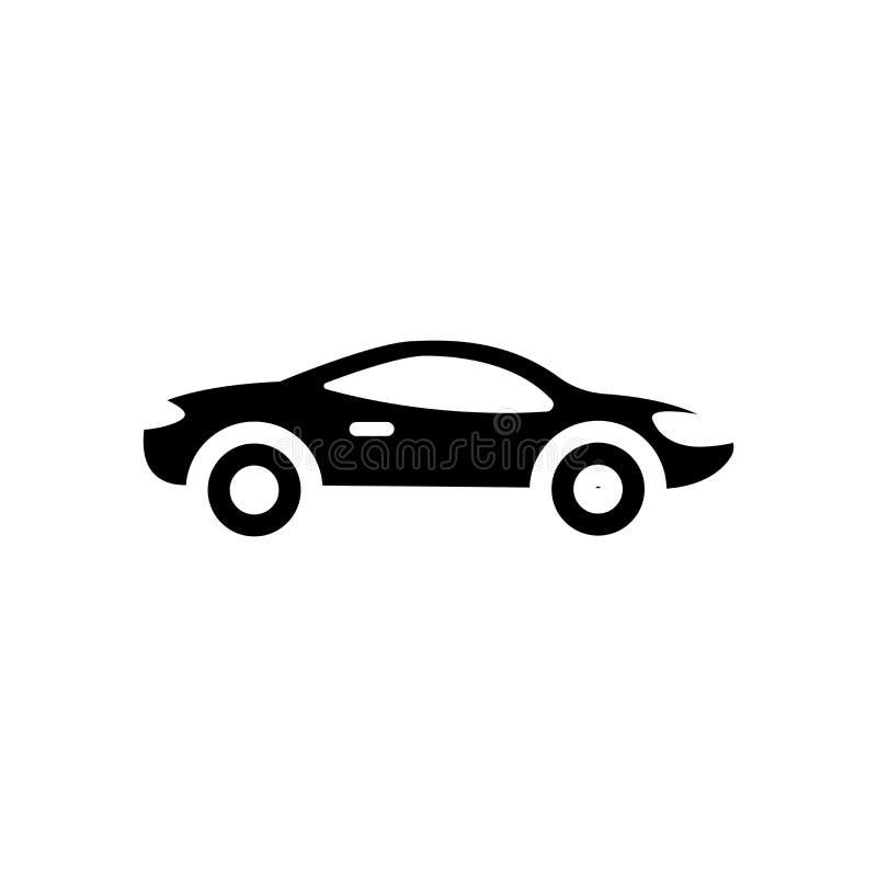Ícone do carro desportivo  ilustração royalty free