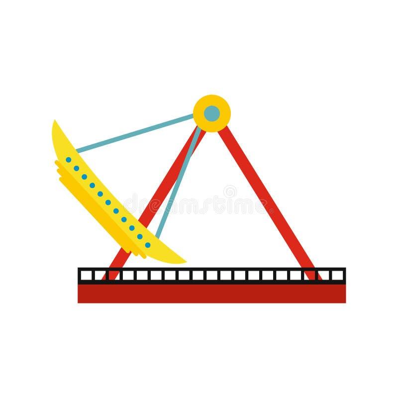 Ícone do carrossel do barco ilustração do vetor