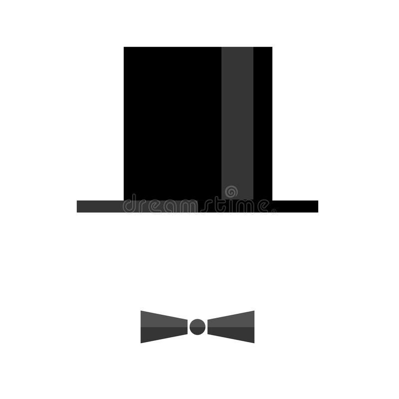 Download Ícone Do Cavalheiro Isolado No Fundo Branco Luz Do Vetor Art Ilustração Stock - Ilustração de formado, vidros: 80102779