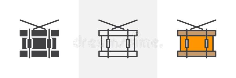 Ícone do cilindro de cilada ilustração royalty free