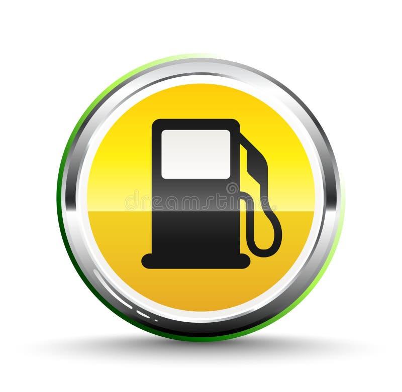 Ícone do combustível ilustração royalty free