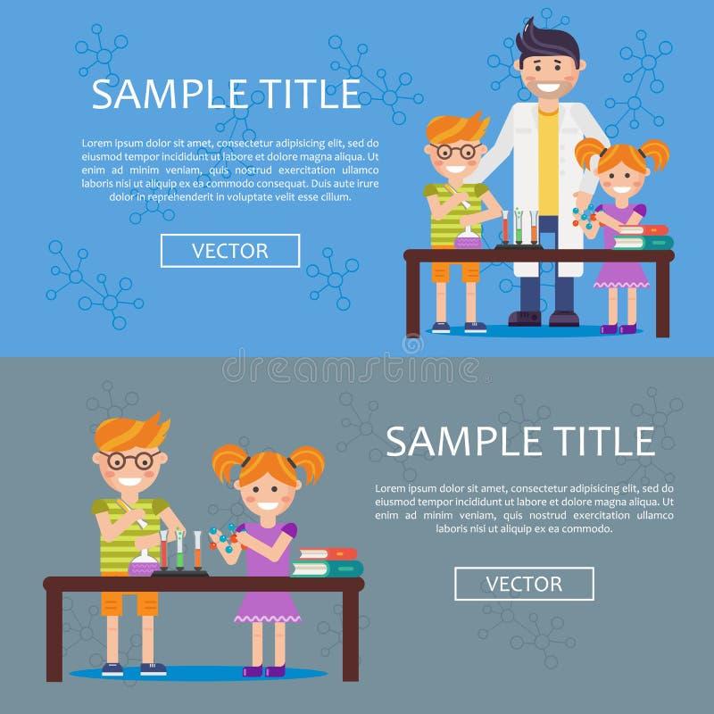 Ícone do conceito do infographics da educação ilustração stock