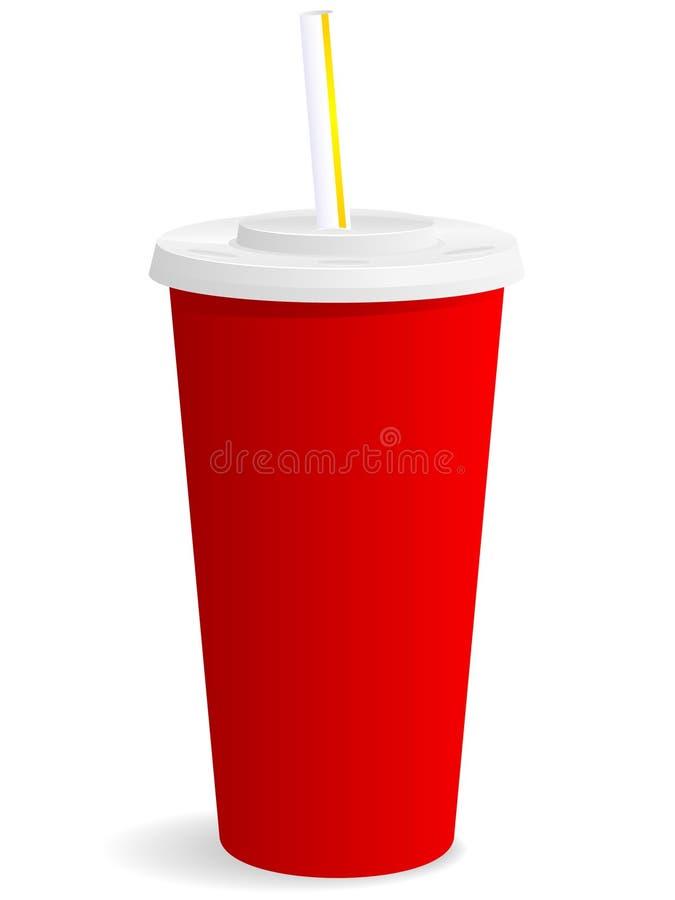 Ícone do copo da bebida ilustração stock