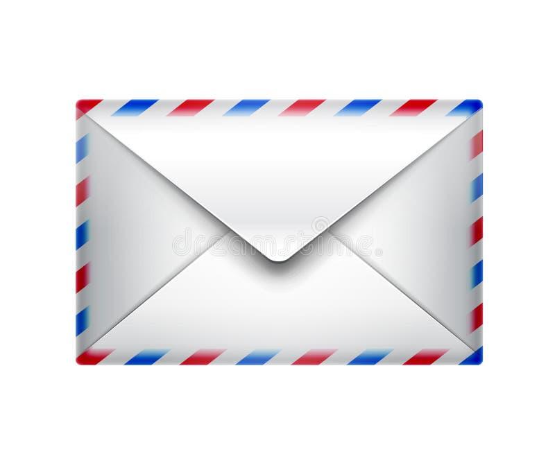 Ícone do correio ilustração royalty free