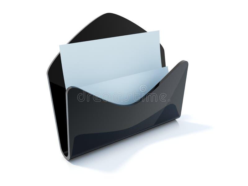 Ícone do correio com letra
