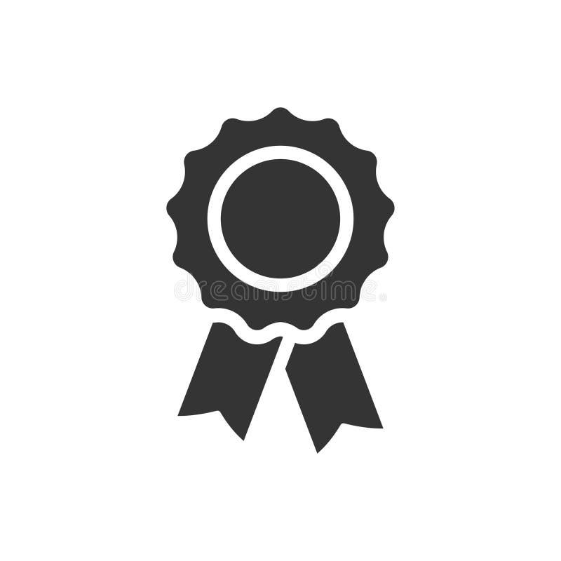 ícone do crachá da concessão ilustração royalty free